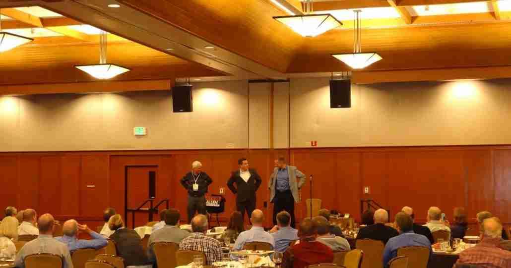 Corporate banquet entertainment by Kevin Allen