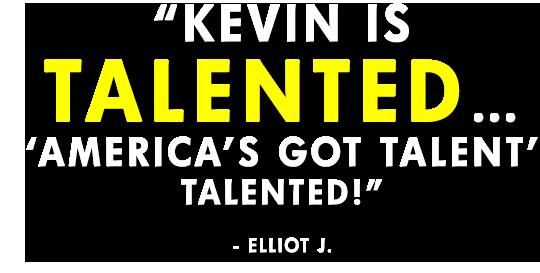 Kevin Allen America's Got Talent Testimonial