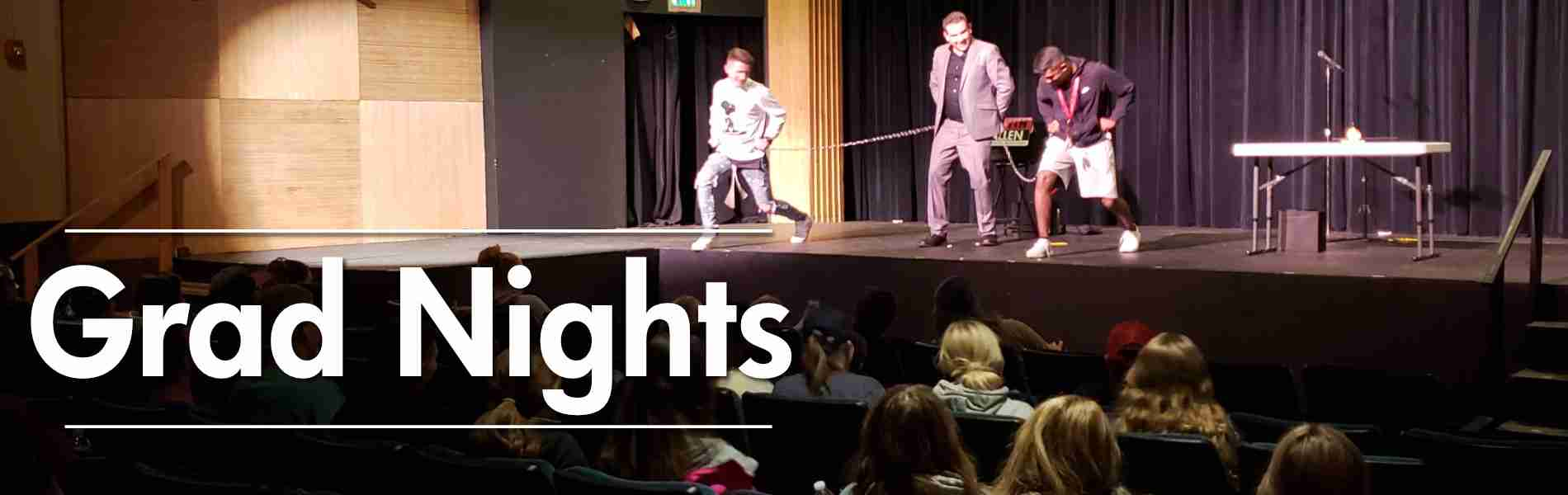 Comedy Magician Grad Night Entertainment header pic
